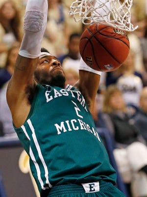 Eastern Michigan forward James Thompson IV.