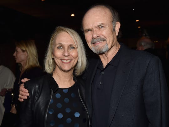 Kurtwood Smith (right, with Joan Smith)