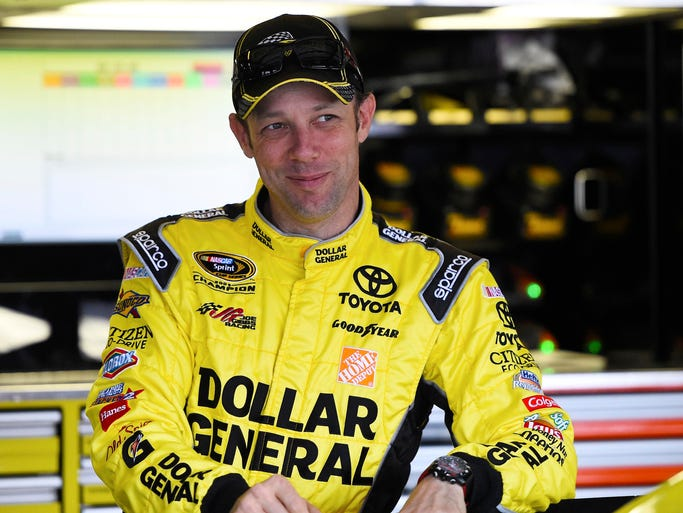 Matt Kenseth, born March 10, 1972 in Cambridge, Wis., made his full-time NASCAR Cup Series debut in 2000 for team owner Jack Roush.