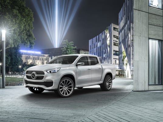 Mercedes benz reveals luxury pickup truck for Mercedes benz usa email