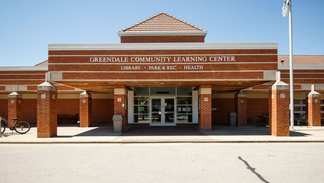 Greendale Public Library is located inside the Greendale Community Learning Center as seen on Saturday, May 26, 2018.