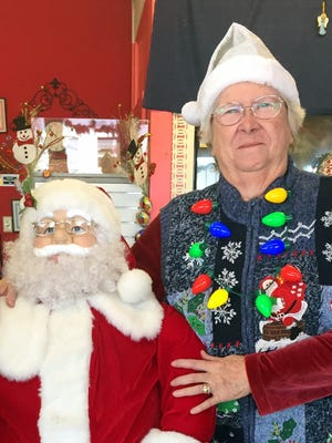 Lois Tharp, owner of Tharp's Flowers and Gifts at 1205 S. Columbus Road, is accepting late registrationfor the annual Deming Kiwanis Christmas Light Parade. You can register an entry for the parade at Tharp's for $5. The parade is slated for 6 p.m. on Saturday, Dec. 2. It will begin at the BMX Park on East Poplar St and travel west to Pearl St. The route will then turn right on Pearl and travel north past Elsie Vega (Chicano) Park and turn left on Spruce St. The parade will move west on Spruce and turn left on South Platinum Avenue toward the Luna County Courthouse. Following the parade, Santa Claus will make a surprise visit at the park's gazebo to hand out goodie bags and pose for photos.