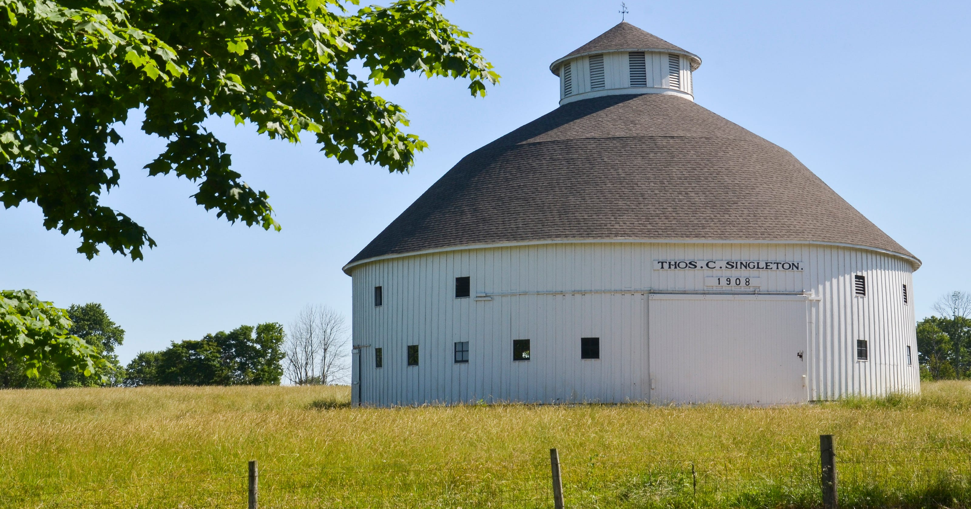 Round Barns Becoming More Rare In Indiana