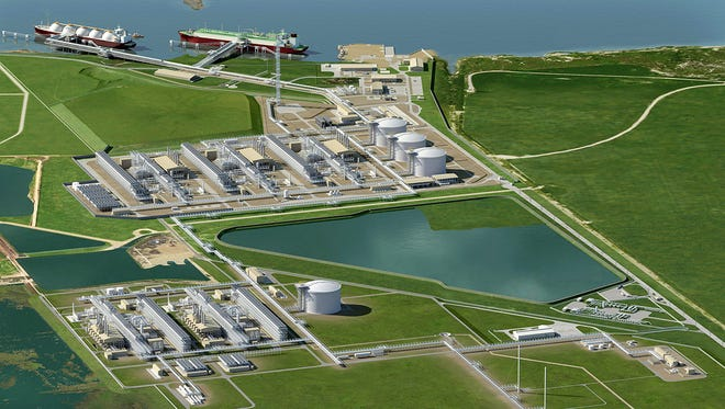 Cheniere Energy Inc. has applied to Gregory-Portland ISD for tax incentives that would help pay for an expansion of its still-unfinished liquefied natural gas plant.