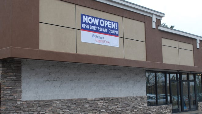 Banner Health opened a new urgent care center on South College Avenue near the intersection with Horsetooth Road.