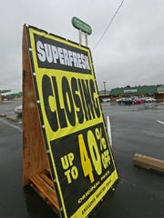 Superfresh on New Castle Avenue near New Castle is closing its doors soon.