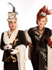 "Patti LuPone and Christine Ebersole in ""War Paint."""