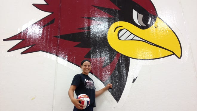 Carly Cerrato has accumulated eight varsity letters entering her senior year playing volleyball, basketball and softball