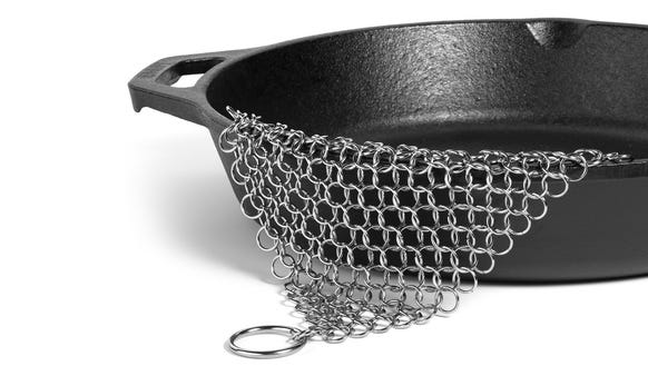 The easiest way to clean your cast iron.