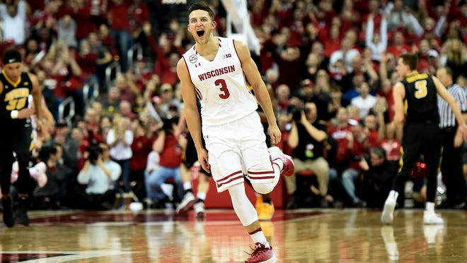 Zach Showalter has become a key contributor for Wisconsin since redshirting during the 2013'-14 season.
