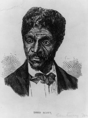 Dred Scott, a Missouri slave who sued for his freedom. His petition was denied by the Missouri Supreme Court in 1852 and the U.S. Suprreme Court used his case to strip all Blacks of citizenship.