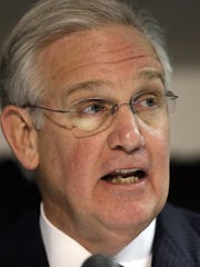 Missouri Gov. Jay Nixon made the expansion of state