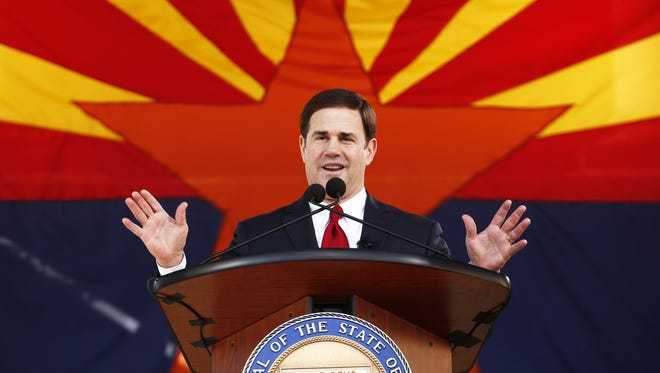 As state treasurer, Gov. Doug Ducey was instrumental in broadening the fund's stock-market orientation to include up to 10 percent in small-company shares, helping to diversify the portfolio away from big stocks and hybrid midsize stocks.