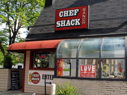 Nothing fancy: That's a deliberate vibe at Chef Shack