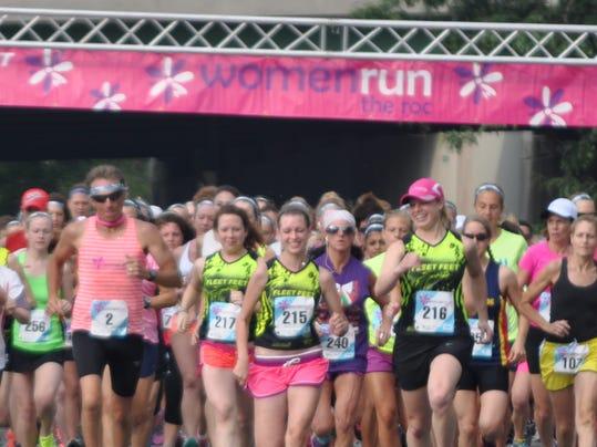 2014 Women Run the Roc Start