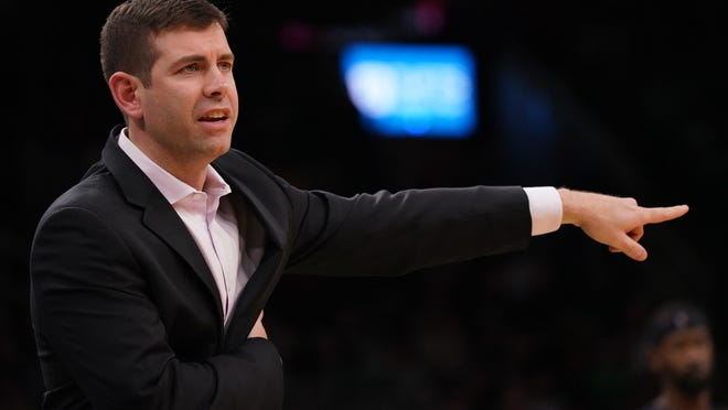 The Celtics' Brad Stevens could well be coaching games in central Florida this summer.
