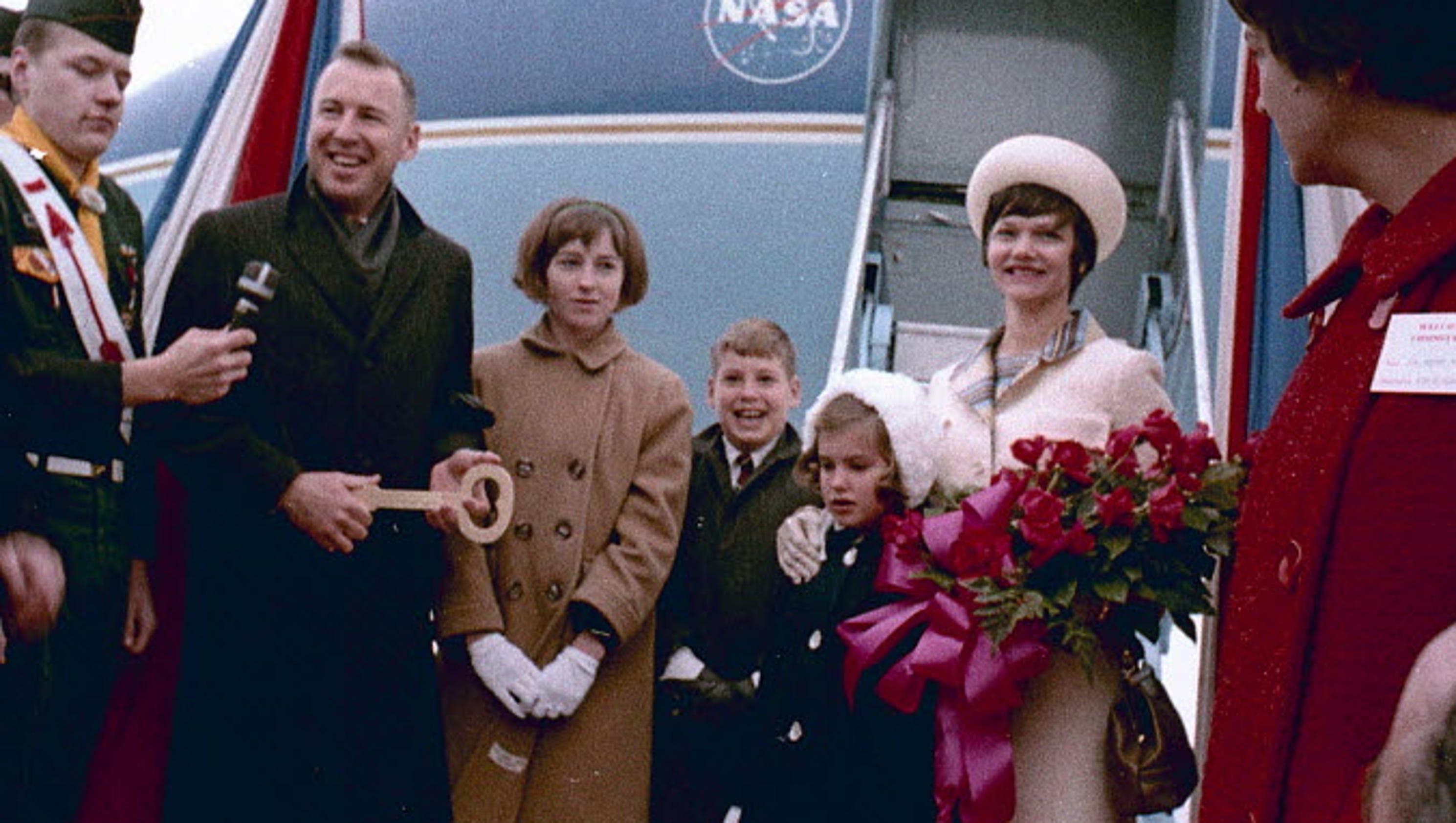 Lunar Mountain Named After Apollo 13 Astronaut Jim Lovell