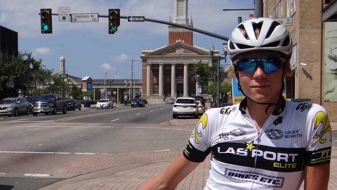 Rising Byrd sophomore Logan McLain, 15, is training in Europe with USA Cycling.