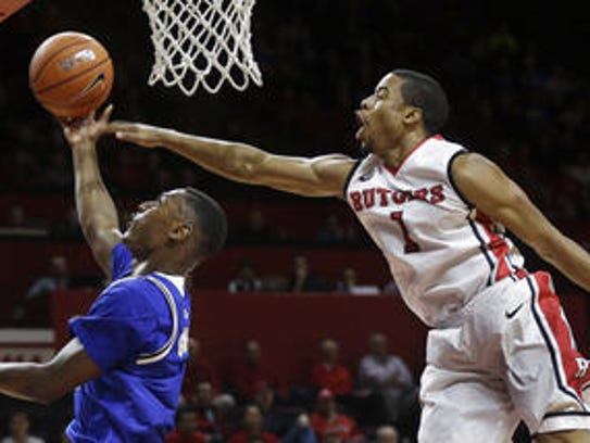 Jerome Seagears' foul of Sterling Gibbs helped seal a rivalry game in Seton Hall's favor.