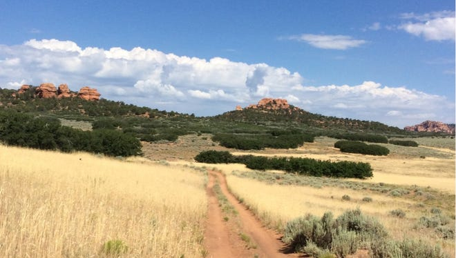 A piece of land near Zion National Park is going up for auction next month.
