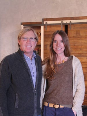 Jeff Janson and Robin Janson, owners of Urban Evolutions, an architectural salvage and restoration company in Appleton.