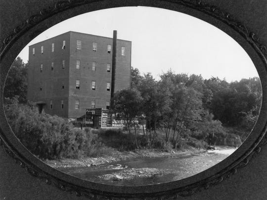 Heim's mill as it appeared in 1905, just five years