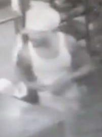 Island Crab Company burglary suspect