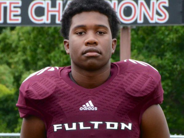 Zaevion Dobson, a 15-year-old Fulton High School football player, was killed in a drive-by shooting in December.