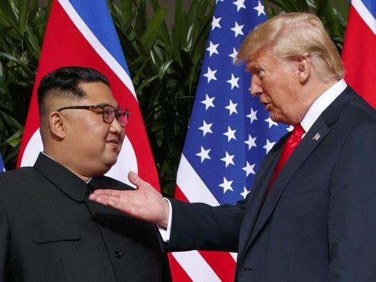 Donald Trump,Kim Jong Un