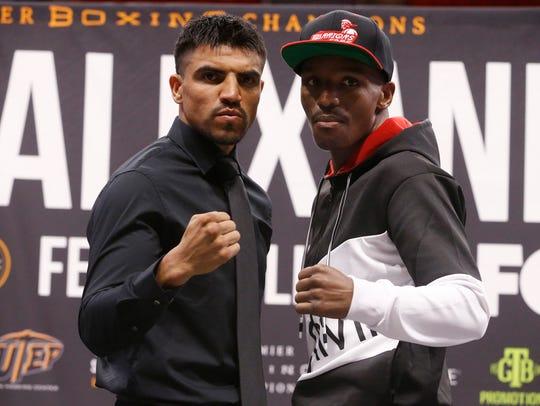 Victor Ortiz and Devon Alexander will square off in