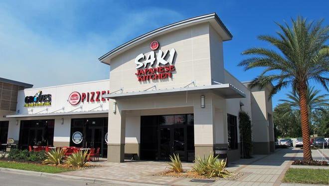 Saki Japanese Kitchen opened in early March in Stock Plaza on Collier Boulevard at Grand Lely Drive in East Naples.