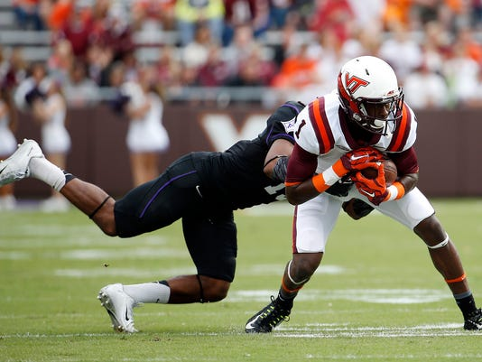 NCAA Football: Furman at Virginia Tech