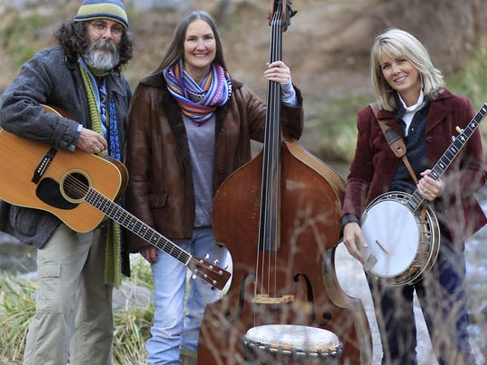 Alternative bluegrass trio, The Noisy Water Band is