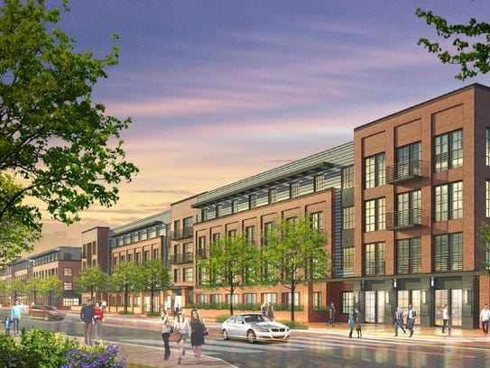 Rendering of Edge-on-Hudson's Phase 1 at the former