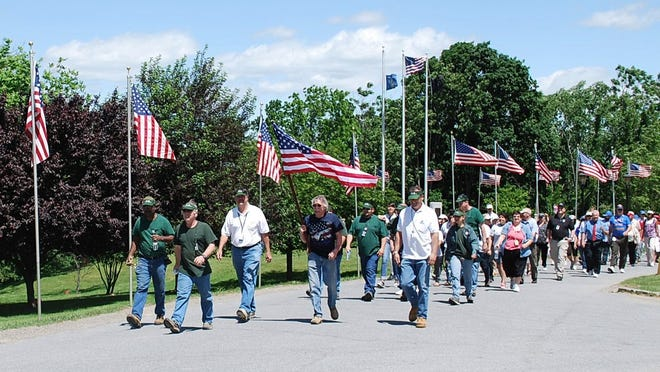 VA 2K Walk & Roll calls attention to the homelessness of veterans in this 2011 photo. The event, Veterans Homelessness and Employee Wellness, was held at VA Hudson Valley Health Care System, Castle Point campus.
