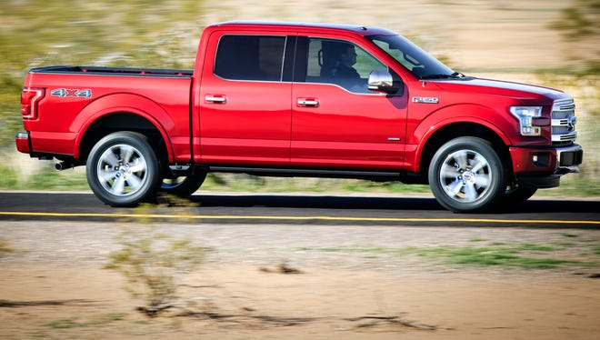 Ford's  2015 F-150 pickup will have a new engine option