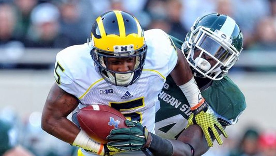 college football daily michigan michigan state betting line