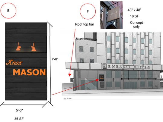 Knox Mason will move down Gay Street to be the anchor restaurant for the Embassy Suites expected to be complete March 2019.