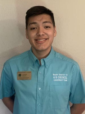 Austin Chapa, a member of the Premont Cactus 4-H Club and Jim Wells County 4-H has been elected to serve on the 2020-21 South District 12 4-H Council as Delegate-at-Large.