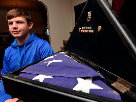 Matthew Ott,  15 of West York, is raising money for