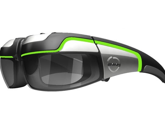 Immy's augmented reality glasses allow users to experience