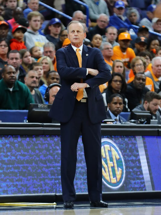 NCAA Basketball: SEC Conference Tournament-Tennessee vs Arkansas