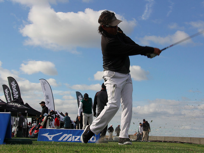 The Met PGA Expo was part of the Met PGA Team Championship on Monday on Long Island.