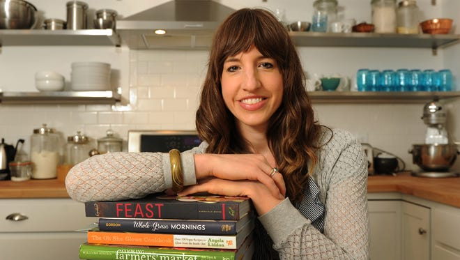 Sonja Overhiser, a food blogger for A Couple Cooks, in her home kitchen.