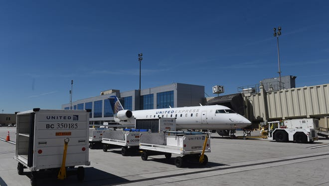 "The RGJ's ""Know Your City"" tour of the Reno-Tahoe International Airport in Reno on May 23, 2017."