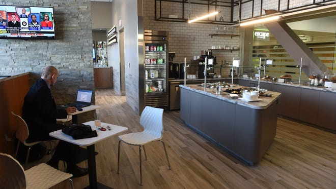 The new Escape Lounge in Reno-Tahoe International Airport is open 4:30 a.m. to 8 p.m. daily with changing food offerings.