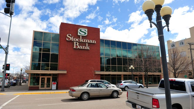 Stockman Bank on 1st Avenue North in Great Falls.