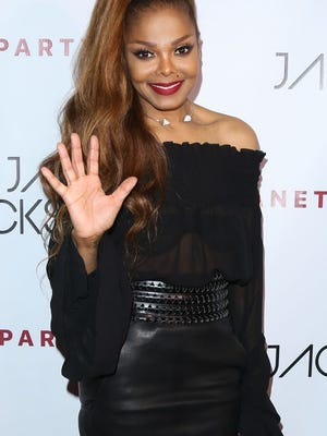 Janet Jackson, here at an after party for her L.A. show, shared the Hollywood Bowl stage with several of her former dancers.
