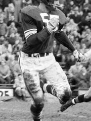 Dan Currie was the No. 3 selection in the 1958 NFL Draft by the Green Bay Packers. He won two NFL Championships under legendary head coach, Vince Lombardi.