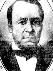 William C. Goodridge was a former slave who gained his freedom and became a successful York businessman in the 1800s. He later became a conductor on the Underground Railroad.